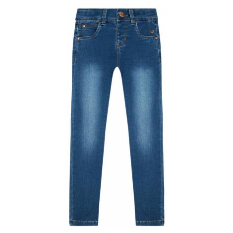 NAME IT Jeansy 13188628 Niebieski Skinny Fit