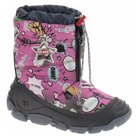 buty dziecięce Olang Happy - 887/Lampone