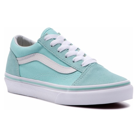 Tenisówki VANS - Old Skool VN0A38HBVIB1 Blue Tint/True White