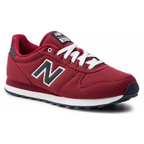 Sneakersy NEW BALANCE - ML311PR Bordowy