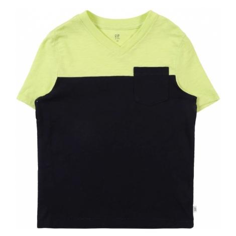 GAP Koszulka limonka / czarny