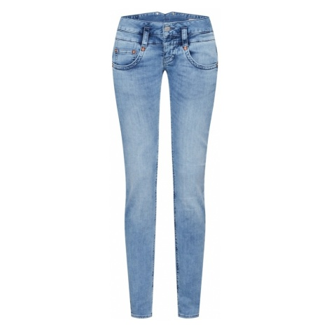 Herrlicher Jeansy 'Pitch Slim Denim Stretch' niebieski denim