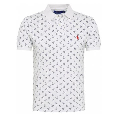 POLO RALPH LAUREN Koszulka niebieski / biały