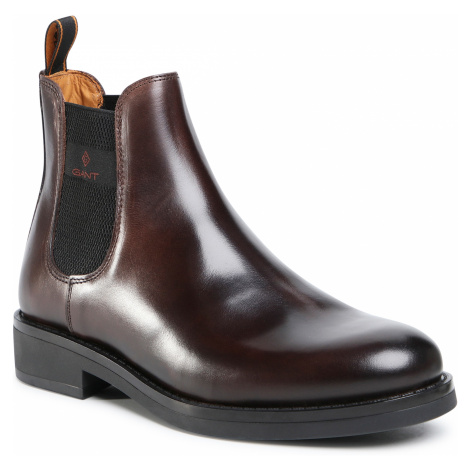 Sztyblety GANT - Brookly 21651011 Dark Brown G46