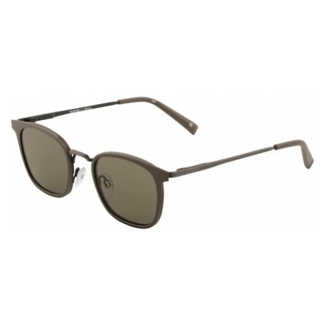 LE SPECS Okulary przeciwsłoneczne 'RACKETEER' czarny / khaki