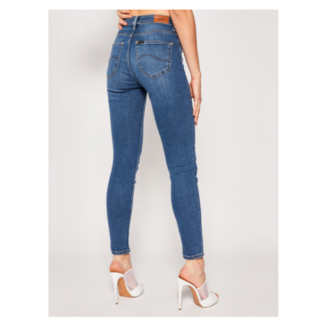 Lee Jeansy Skinny Fit Scarlett High L626DUIW Granatowy Skinny Fit
