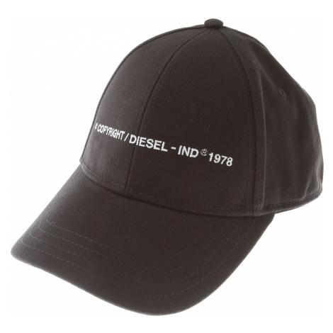 Diesel Czapka dla Mężczyzn Na Wyprzedaży, czarny, Tkanina, 2021