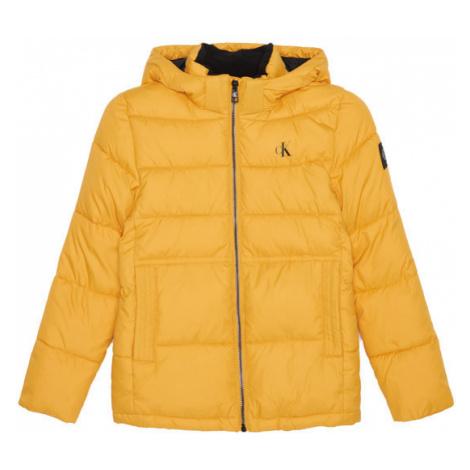 Calvin Klein Jeans Kurtka puchowa Essential Puffer IB0IB00557 Żółty Regular Fit
