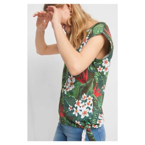 Koszulka z wakacyjnym wzorem Orsay