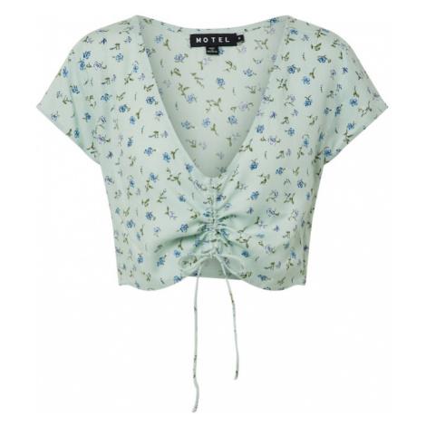 Motel Koszulka zielony / miętowy / niebieski