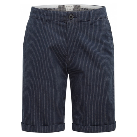SELECTED HOMME Spodnie granatowy