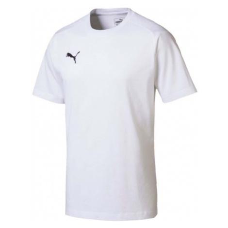 Puma LIGA CASUALS TEE biały L - Koszulka męska