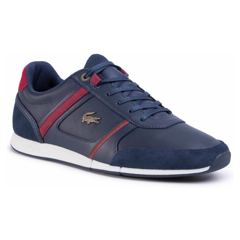 Sneakersy LACOSTE - Menerva 120 1 Cma 7-39CMA00075A5 Nvy/Dk Red