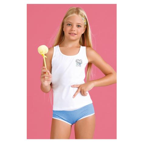 Dziewczęcy komplet: majtki i podkoszulka Bamboline I Jadea