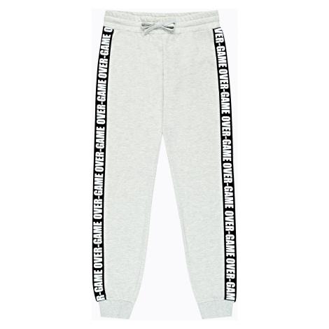 GATE Spodnie dresowe z paskiem po bokach