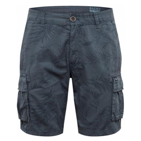 BLEND Spodnie granatowy
