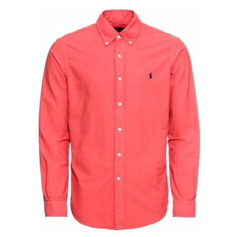 POLO RALPH LAUREN Koszula 'SL BD PPCSPT-LONG' czerwony