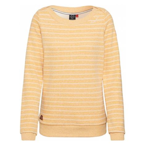Ragwear Bluzka sportowa 'TASHI' biały / żółty