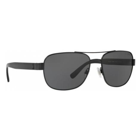 Polo Ralph Lauren Okulary przeciwsłoneczne 0PH3101 903887 Czarny
