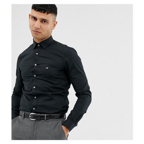 Calvin Klein skinny fit shirt easy iron black exclusive at asos
