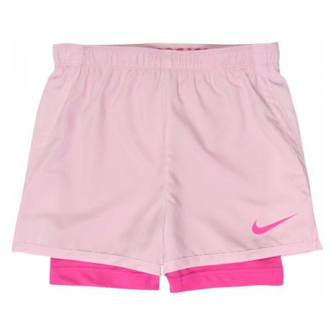 NIKE Spodnie sportowe różowy / różowy pudrowy
