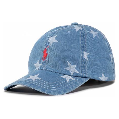 Czapka z daszkiem POLO RALPH LAUREN - Baseball Cap 323793582001 Blue