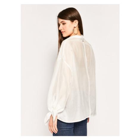 Guess Koszula Marisa W0GH0H WCVF0 Biały Regular Fit