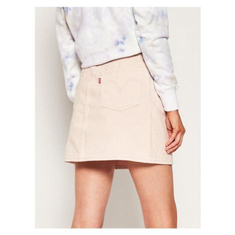 Levi's® Spódnica jeansowa Decon Iconic 77882-0013 Różowy Regular Fit Levi´s
