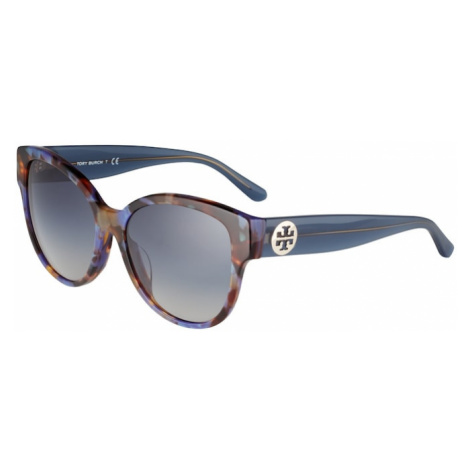 Tory Burch Okulary przeciwsłoneczne gołąbkowo niebieski / czarny / karmelowy