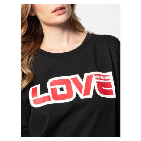 LOVE MOSCHINO Sukienka codzienna W592321M 3876 Czarny Regular Fit