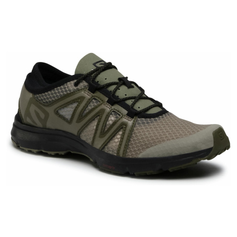 Buty SALOMON - Crossamphibian Swift 2 412950 27 V0 Vetvier/Olive Night/Black
