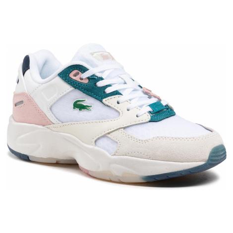 Sneakersy LACOSTE - Storm 96 Lo 0921 1 Sfa 7-41SFA00171Y9 Wht/Lt Pnk