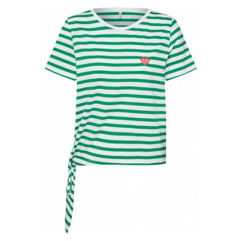 ONLY Koszulka 'onlfBRAVE' zielony / biały