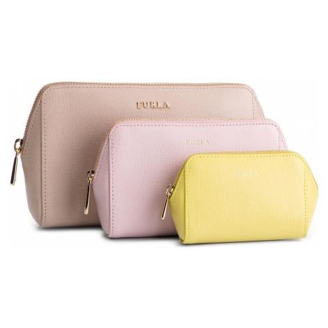 Zestaw kosmetyczek FURLA - Electra 1014224 E EL95 B30 Dalia f/Camelia e/Lime f