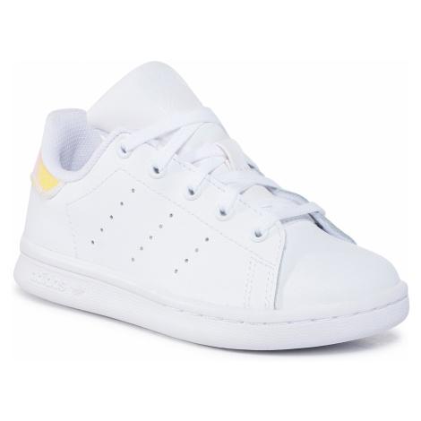 Buty adidas - Stan Smith C FU6674 Ftwwht/Ftwwht/Cblack