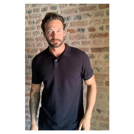 Trendyol Black Men Polo Collar T-shirt