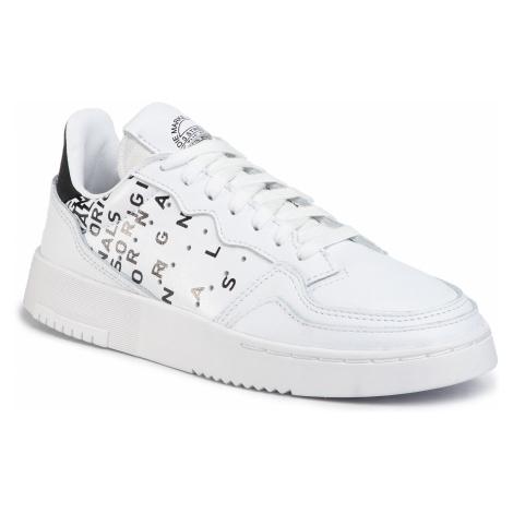 Buty adidas - Supercourt EG6344 Ftwwht/Ftwwht/Cblack