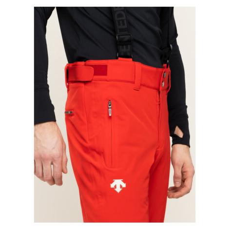 Descente Spodnie narciarskie Swiss Pant DWMOGD20 Czerwony Regular Fit