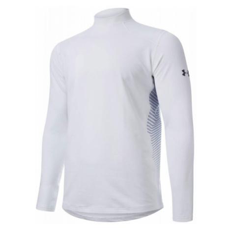 Under Armour UA CG REACTOR FITTED LS biały M - Koszulka funkcjonalna męska