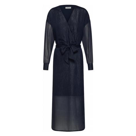 EDITED Sukienka 'Georgette' niebieski / ciemny niebieski