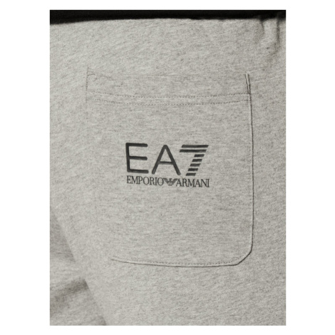 EA7 Emporio Armani Spodnie dresowe 8NPPC3 PJ05Z 3900 Szary Regular Fit
