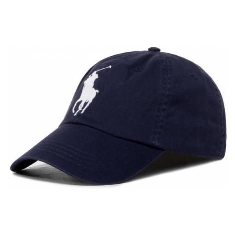 Polo Ralph Lauren Czapka z daszkiem Classic Sport Cap W 710673584013 Granatowy
