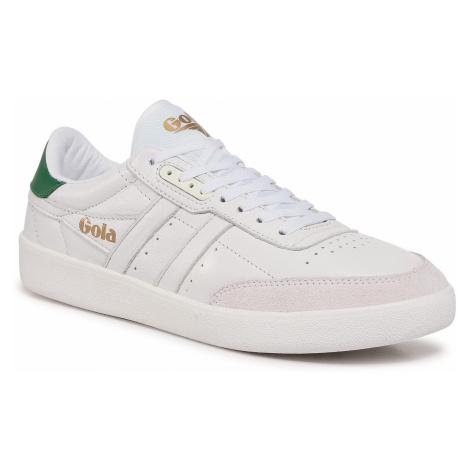 Sneakersy GOLA - Inca Leather CMA686 White/White/Green