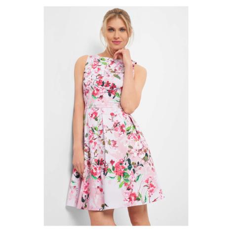 Rozkloszowana sukienka Orsay