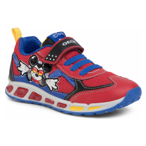 Sneakersy GEOX - J Shuttle B. A J0294A 01454 C7213 D Red/Royal