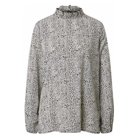 AX Paris Bluzka kremowy / czarny / kamień