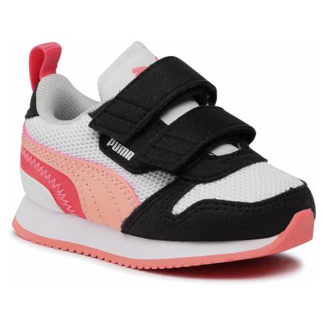 Sneakersy PUMA - R78 V Inf 373618 15 White/Apricot Blush/Black