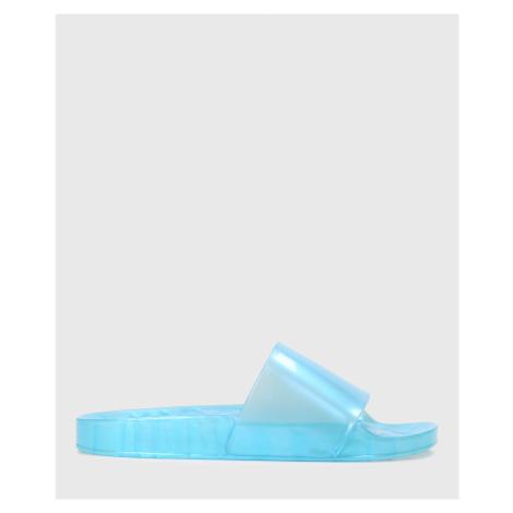 Niebieskie klapki damskie