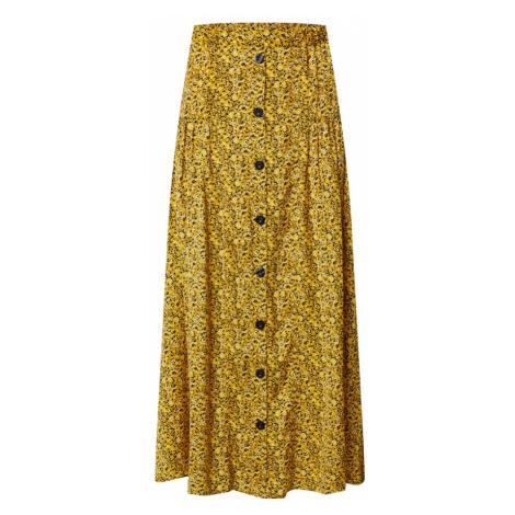 Gestuz Spódnica 'Thallo' żółty / czarny