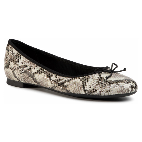 Baleriny CLARKS - Couture Bloom 261505774 Grey Snake